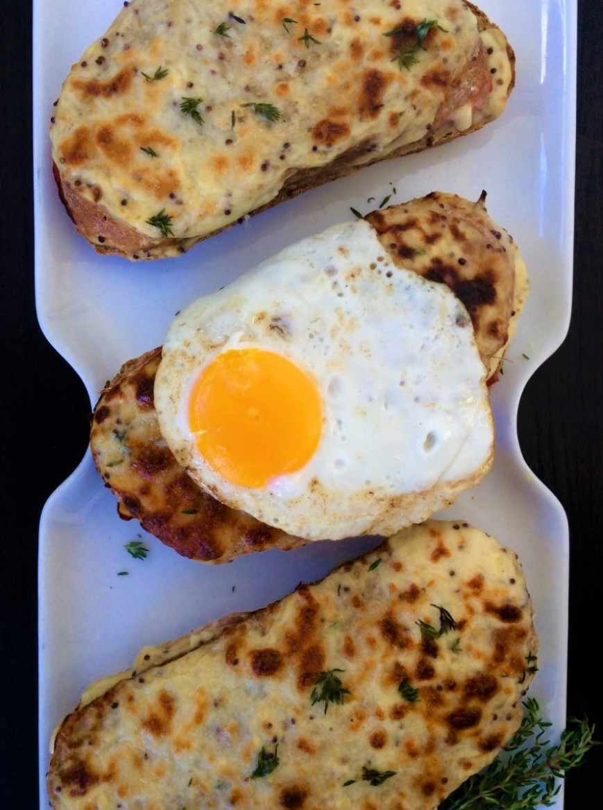 Croque Madame Monsieur